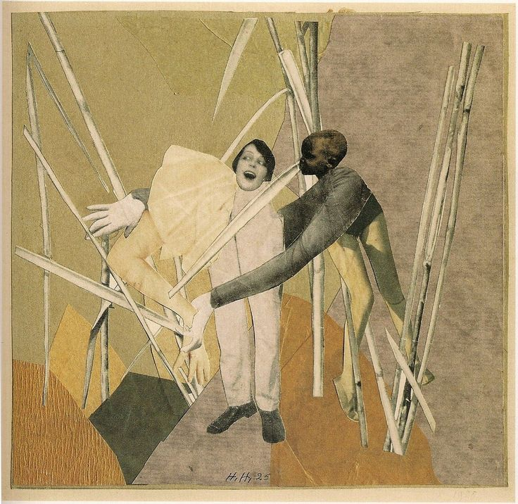 Hannah Höch, Liebe in busch (Love in the bush), 1925
