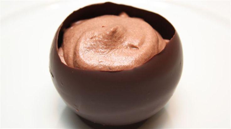 Sjokoladeskål