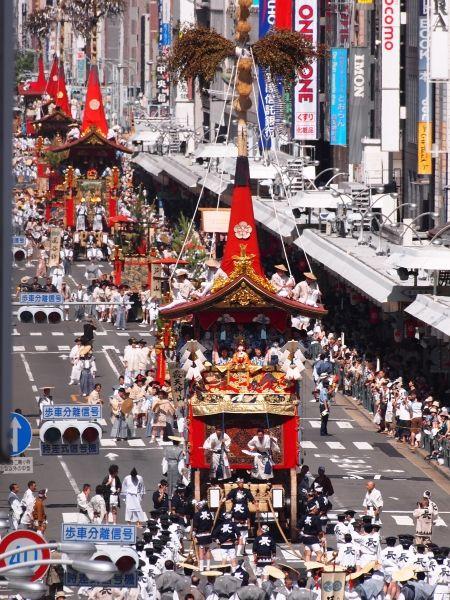 祭の投稿写真。タイトルは祇園祭(長刀鉾)