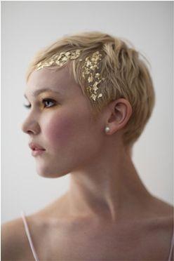 2014 wedding trends hair embellishments gold wedding hair