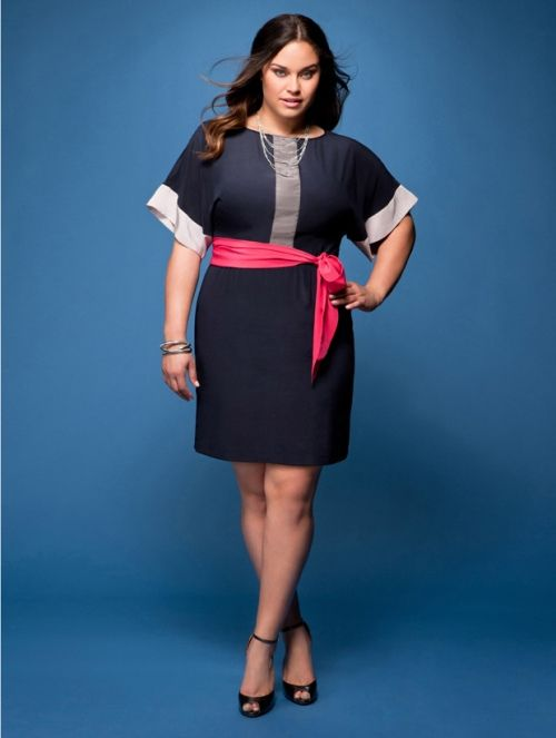 Plus Size Model Treat: Kaela Humphries for Evans
