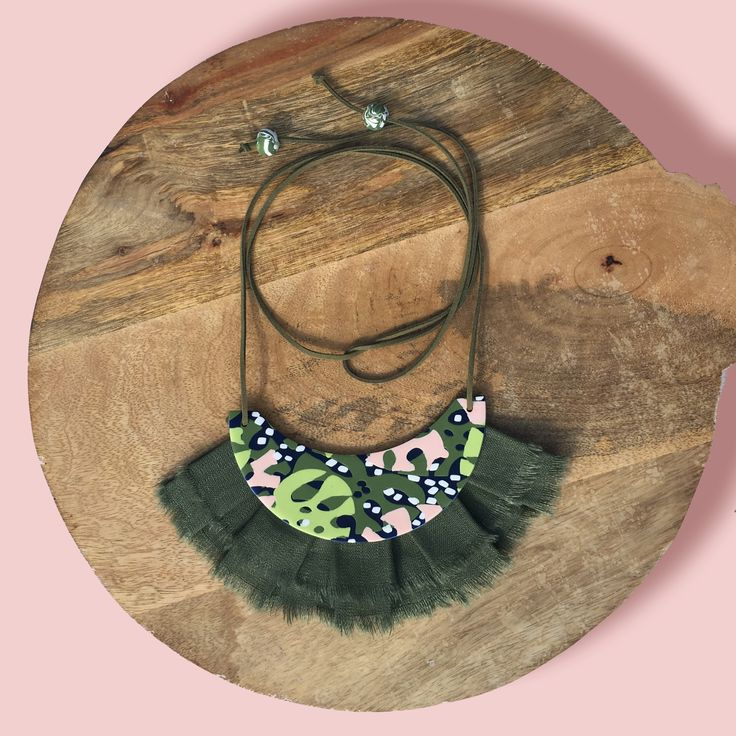 Mary Ted statement necklace - Leaves-me-speechless