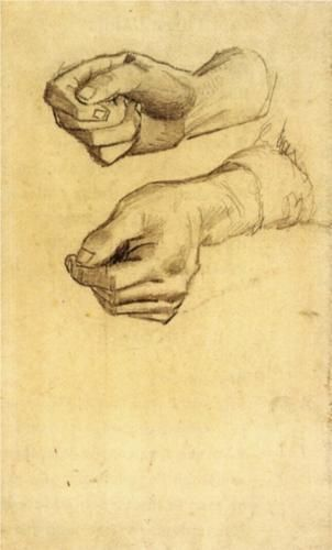 Two Hands - Vincent van Gogh