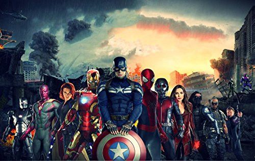 "Captain America: Civil War - Limited Print 8"" x 10"" Poster"