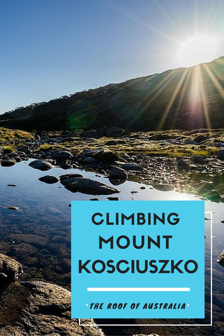 Climbing Mount Kosciuszko is an absolute must! The highest mountain in Australia is not a technical climb, but is still one of the most beautiful hikes in Australia. #hiking #australia #highestmountain #adventure