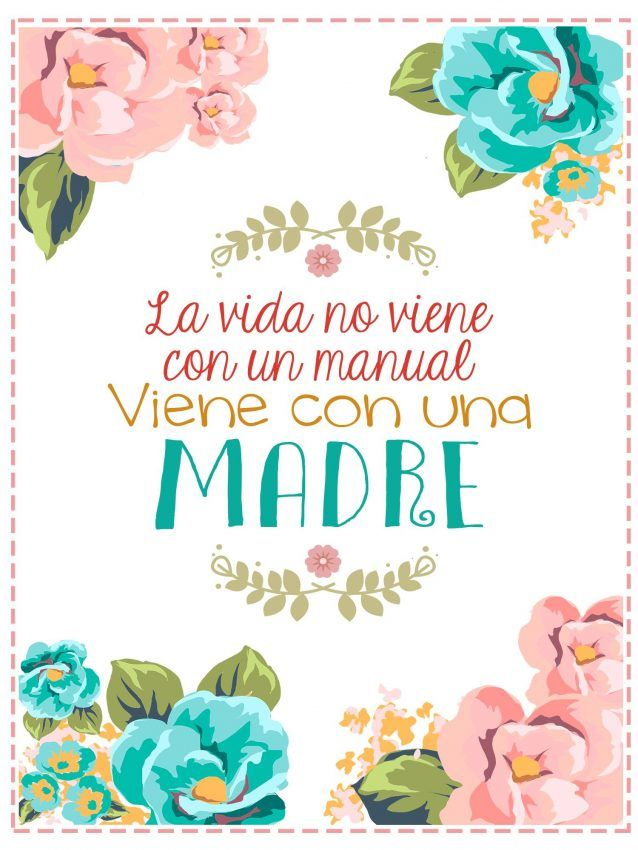 Imagenes Dia de la Madre con frases | Imágenes para Peques Mothers Day Images, Mothers Day Quotes, Valentine's Day Quotes, Happy Mothers Day Wishes, Birthday Cards, Happy Birthday, All About Plants, Bullet Journal Mood, Card Drawing