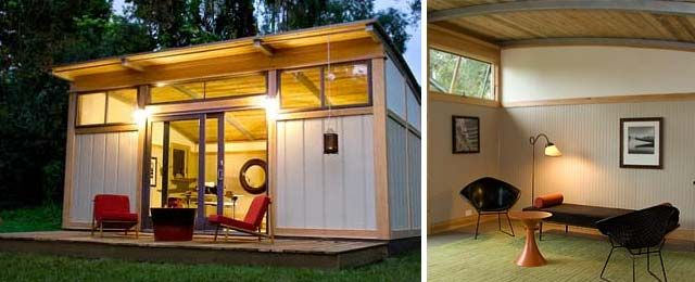 I want this little pre-fab cabin