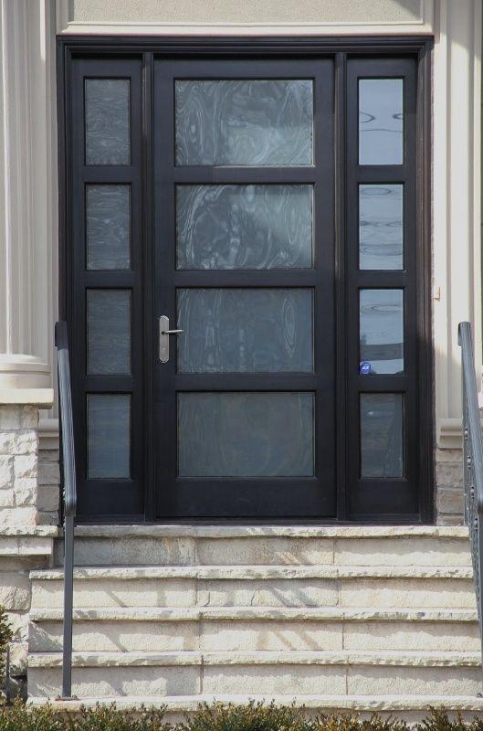 Modern Front Doors in Black