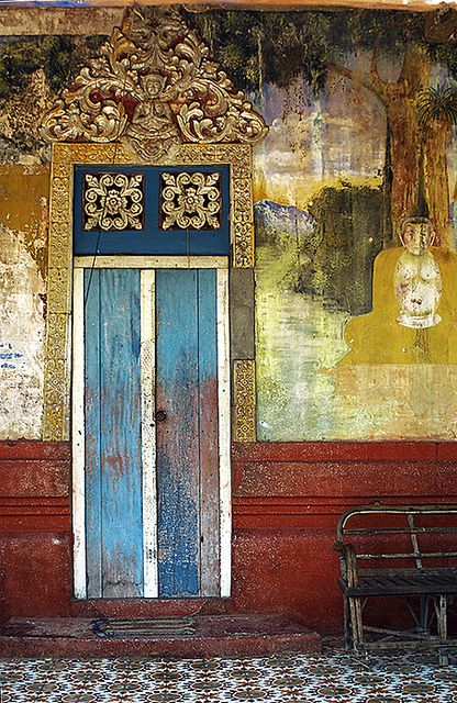 Colorful Doors by Olivier Dubrasquet