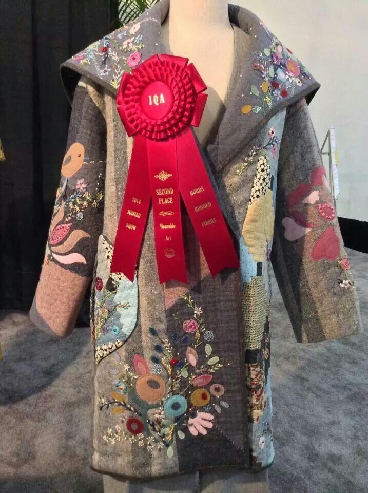 25 best Houston Quilt Festival 2014 images on Pinterest ... : wearable quilt - Adamdwight.com