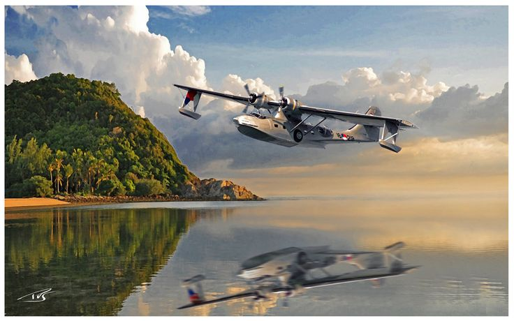 205 best images about PBY Catalina (CAT) Flying Boat 1936 ...