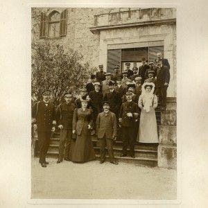 Τατόϊ 26-29 Μαρτίου 1907 (νέο ημερολόγιο). Στιγμιότυπο από την επίσημη επίσκεψη του βασιλέα της Ιταλίας Vittorio Emanuele III της Σαβοΐας. Συλλογή του Ιταλού στρατηγού Ugo Brusati (Monza, 25 giugno 1847 – Roma, 4 novembre 1936)