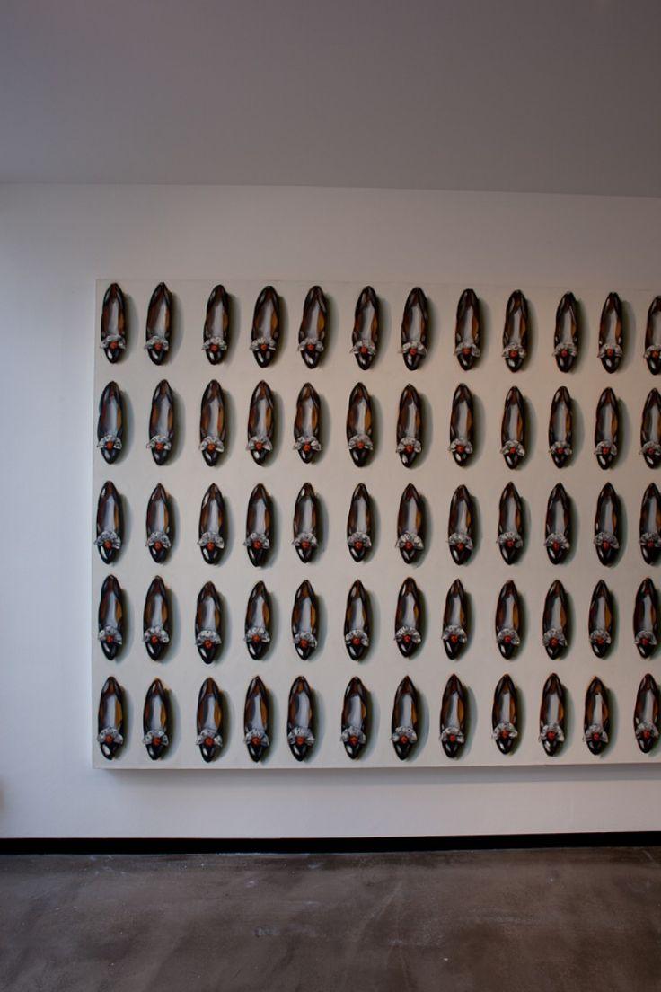 Ivory Lamp Mars Bone Vine, 2012 | Lisa Milroy