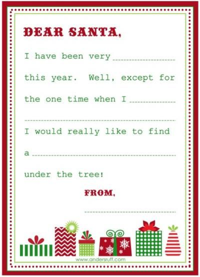 17 Best Ideas About Letter To Santa On Pinterest   Letter To Santa