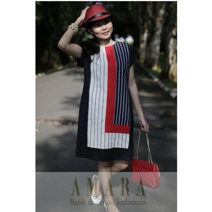 #Lurik Maxi Dress www.amarabatik.com https://www.facebook.com/AmaraEthnicsPage/