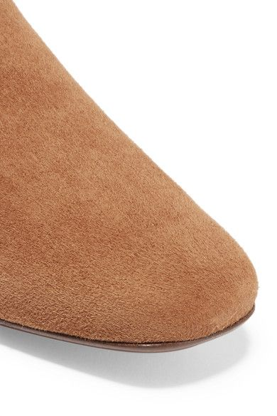 Vince - Bray Suede Loafers - Tan - US9.5