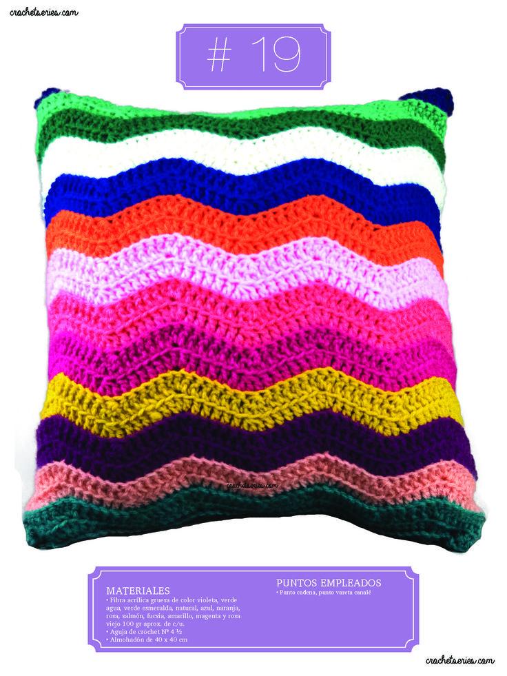 Crochet Almohadones #19