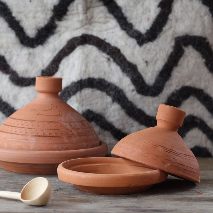 Terracotta cooking tagines
