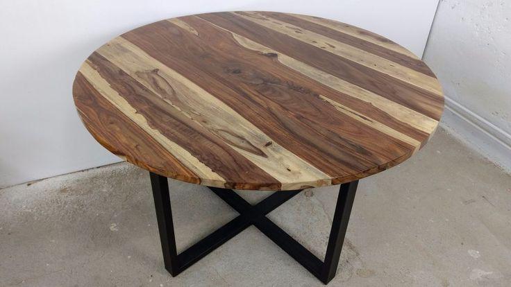 Design Esstisch rund Ø 120 cm Holztisch Dinnertisch Tisch Esszimmertisch massiv