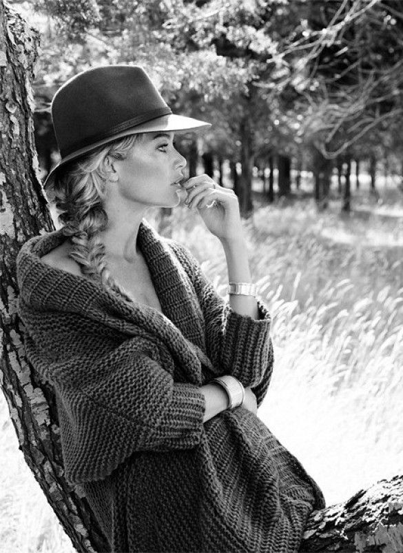 Carolyn Murphy Goes Boho-Chic For Net-A-Porter's The Edit via @WhoWhatWear