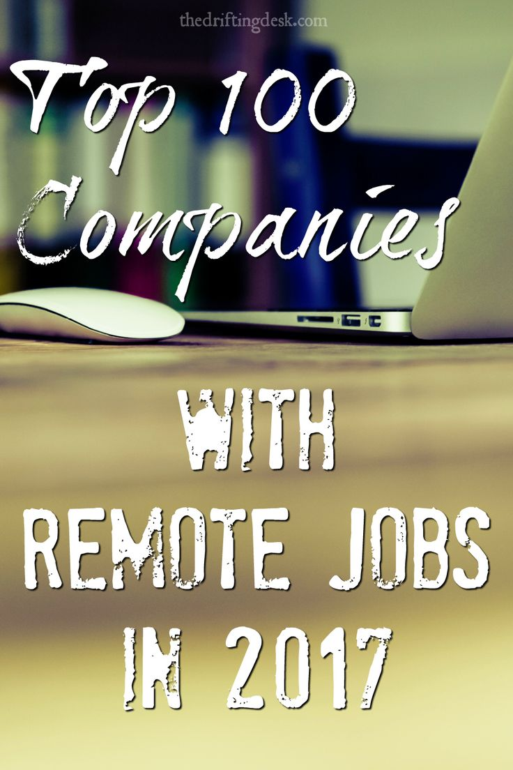 Still dreaming about working remotely from home? 2017 may be your year - apply at these top companies for remote jobs like Amazon, IBM and Salesforce today!