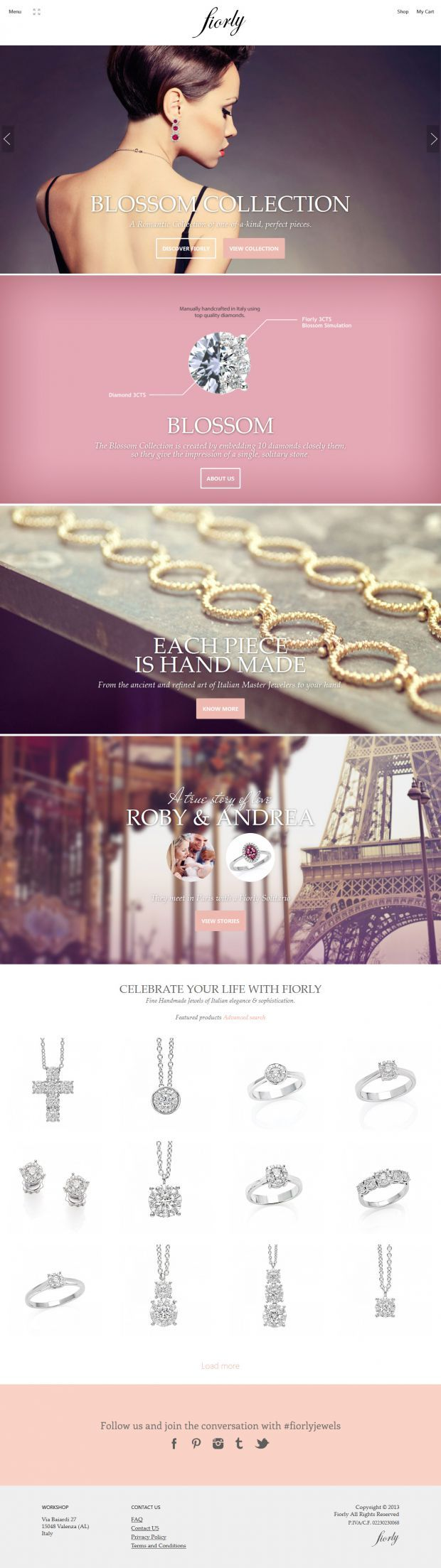 Fiorly - Italian crafted hand-made jewelry