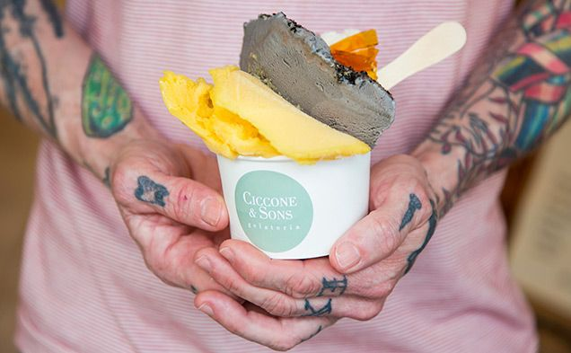 Review: Ciccone and Sons Gelateria -  Finally, gelato that isn't too sweet! Ciccone and Sons are doing gelato the way it should be...