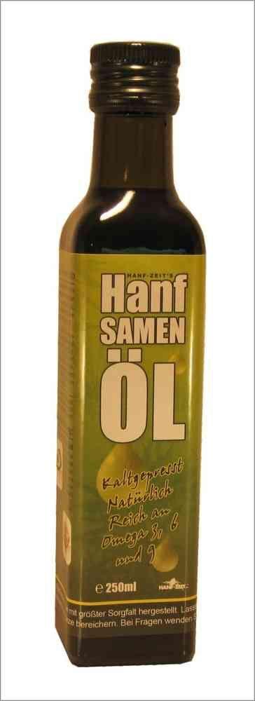 Das wohl gesündeste ÖL der Welt!  702 (HO02 ) Hanfsamenöl, 250ml Hanfner.ch