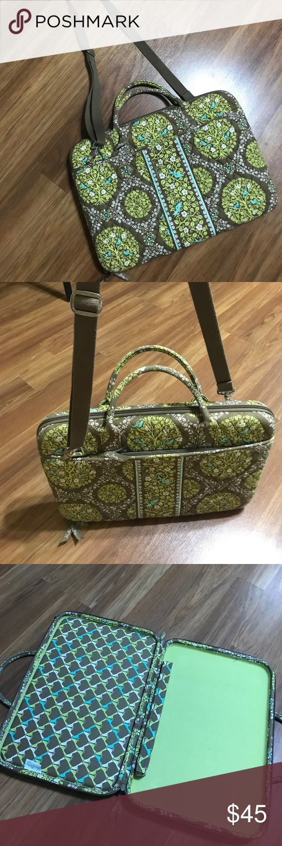"Vera Bradley laptop case Nice case,size 16""X11"" Vera Bradley Accessories Laptop Cases"