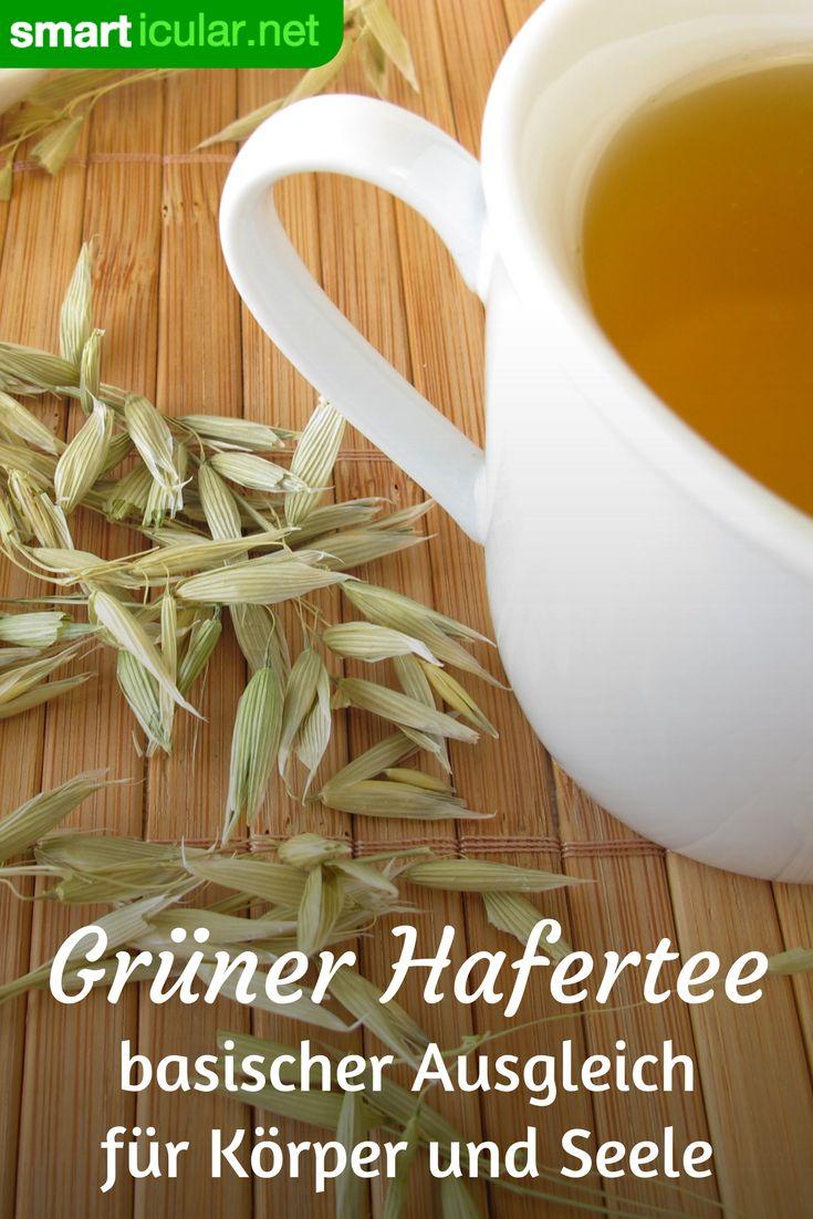 Im grünen Haferkraut stecken besonders viele gesunde, heilkräftige Inhaltsstoffe, die du dir mit einem einfachen Teeaufguss zunutze machen kannst.