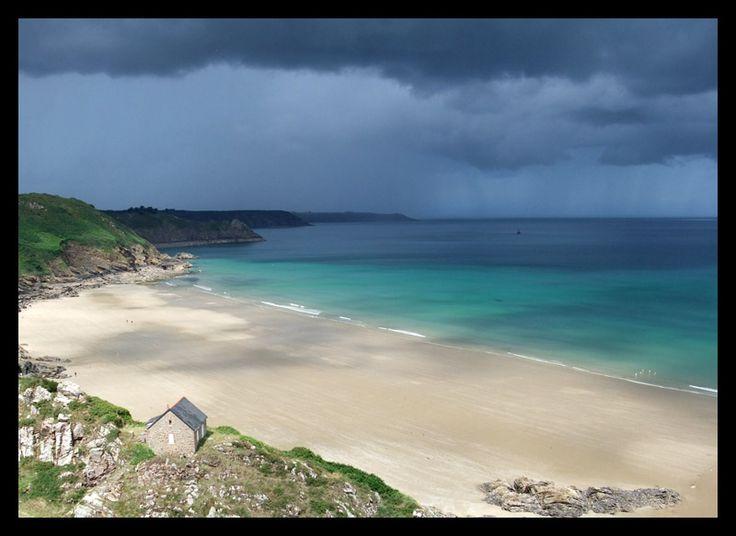 plage Bonaparte, près de Plouha, entre St-Brieuc et Paimpol - Plouha, Bretagne