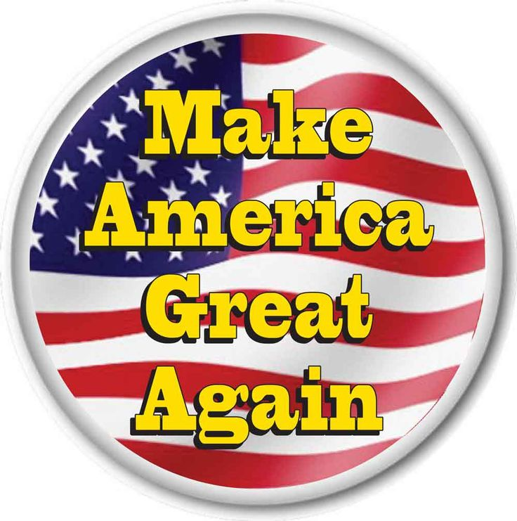 "DONALD TRUMP ""Make America Great Again""  3"" CAMPAIGN Pin Back Button for Presidential Candidate 2016 by Badgelady117 on Etsy"