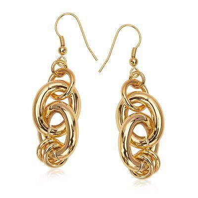 Kolczyki YES Brass Collection CENA PROMOCYJNA: 129.50 PLN www.YES.pl/47307-yes-brass-collection-AB-S-000-MOS-ZCTR004 • #gold #promocja #sale #bizuteria #jewellery #przecena #beautiful  #YES #style
