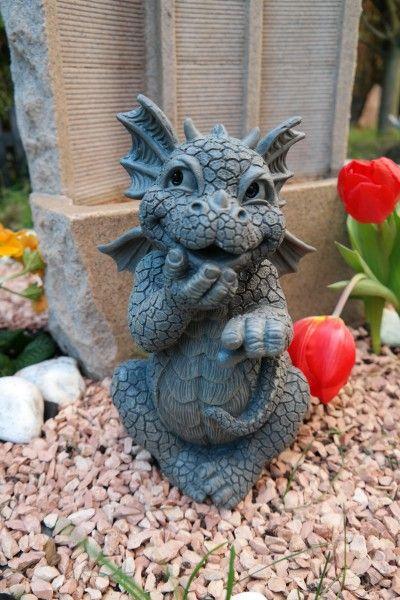 Gartenfigur Drache hihi