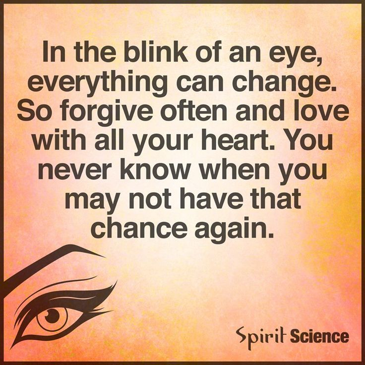 Blink Eye Quotes