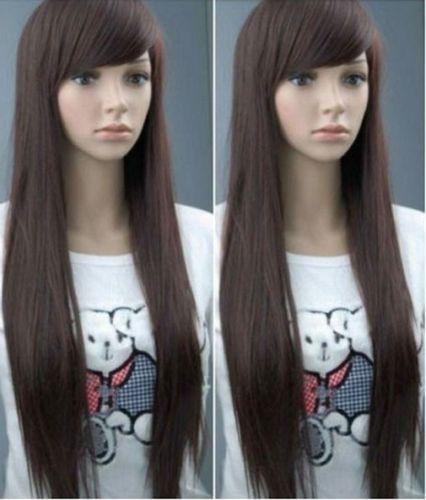 Кк 004455 sexy длинные коричневые женские волосы ПАРИК парики для женщин