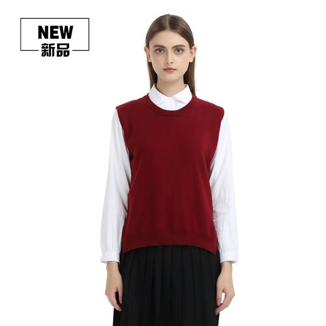 Women Spring Autumn Cashmere Knitted Sleeveless Sweater Vest Female Casual Loose Black Pink Grey Blue Red Waistcoat Vest Tops-in Vests from Women's Clothing & Accessories on Aliexpress.com | Alibaba Group