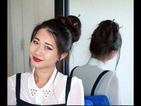 Chopsticks Hair (How To!) - YouTube