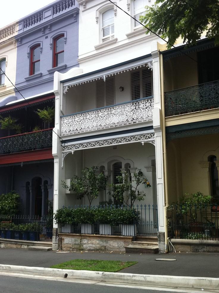 Terrace House, Paddington, Sydney