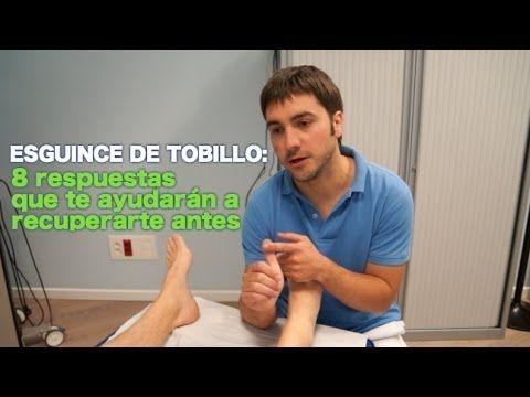 Masaje para esguince de tobillo, como autotratar tu lesion - YouTube