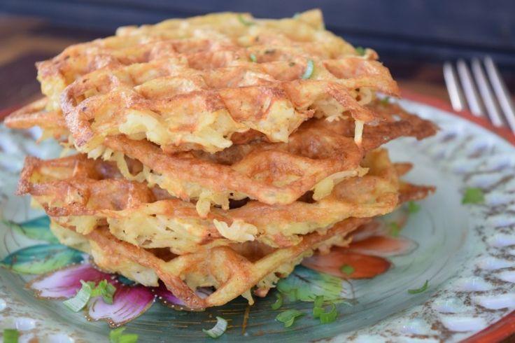 Paleo Waffle Hash Brown