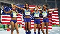 Track Team USA gold medalists Rio