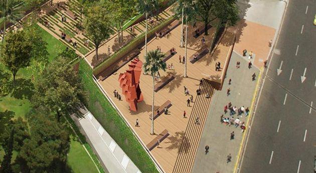 Parque Bicentenario: Este es el ambicioso proyecto desarollado por el arquitecto Giancarlo Mazzanti, que tiene la pretensión de cambiarle la cara al centro de Bogotá.