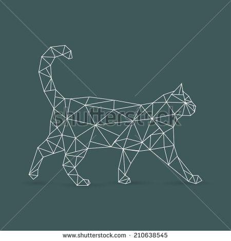 geometric cat - Recherche Google