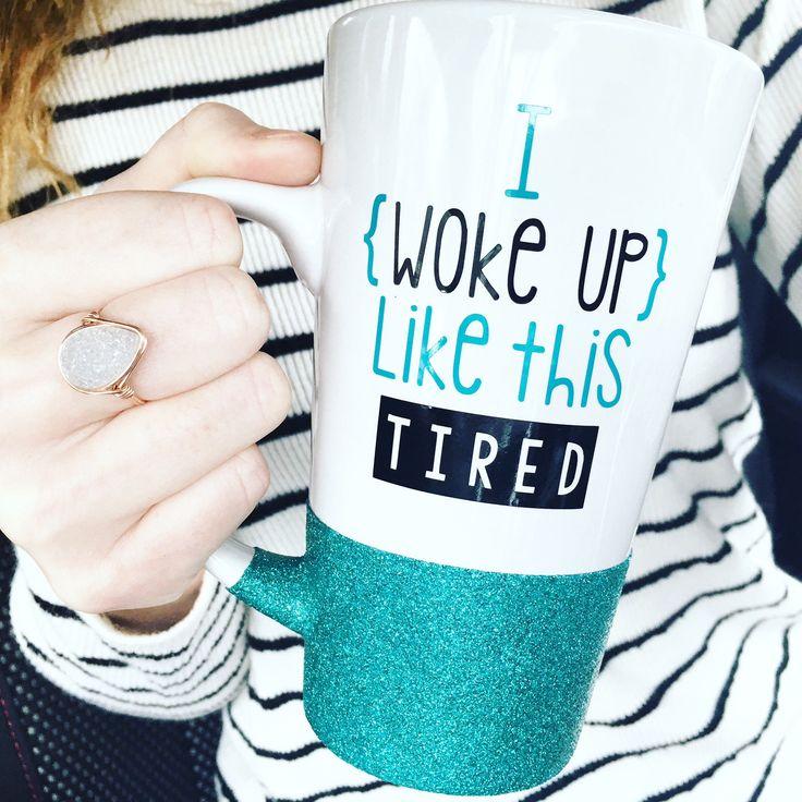 I Woke Up Like This Tall Mug