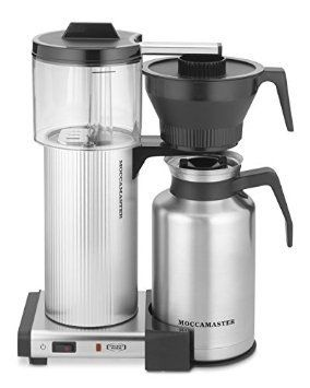 Technivorm Moccamaster Grand CDT Thermal Carafe Coffee Brewer - Polished Silver