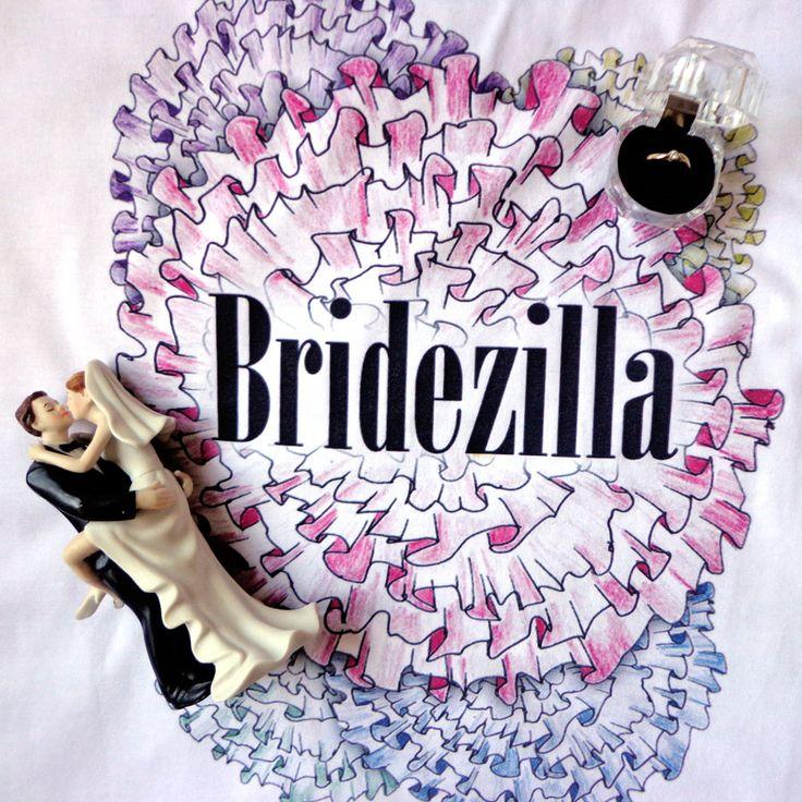 Koszulka Bridezilla - t-shirt