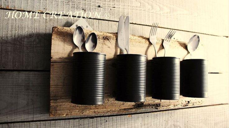 Les 25 meilleures id es de la cat gorie porte ustensiles sur pinterest d cor de cuisine de for Porte ustensile mural