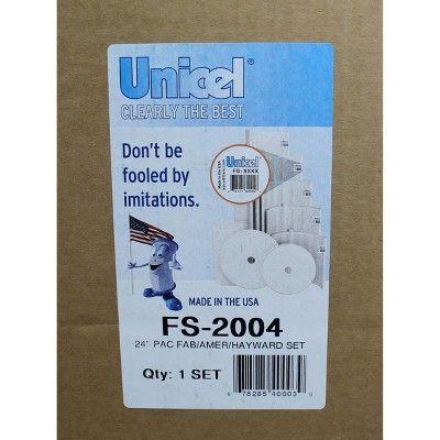 UNICEL D.E 1 Partial FS-2004 Filter Grids Set 48 Sq Ft Hayward Pac-Fab 7 Full