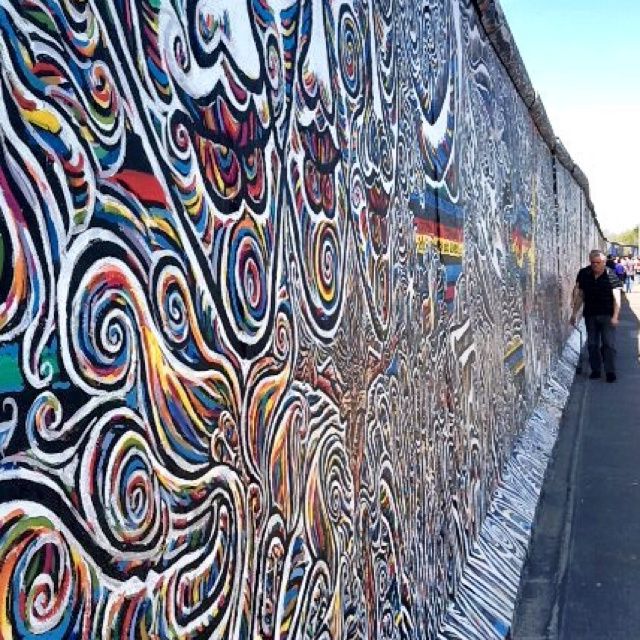 Germany. Berlin Wall, Ravenbruck Concentration Camp.